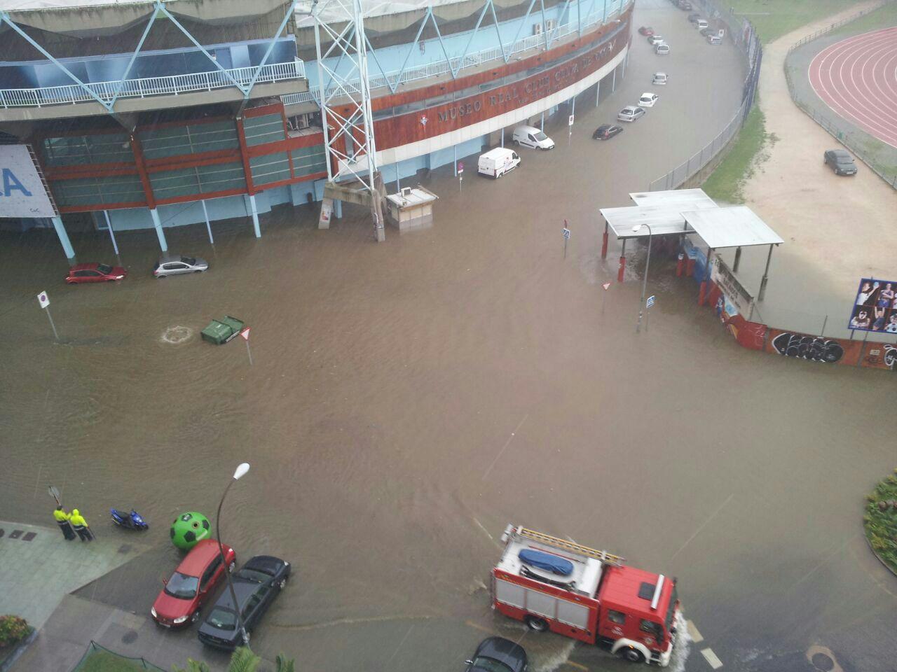 Graves Inundaciones en Vigo Parte 2