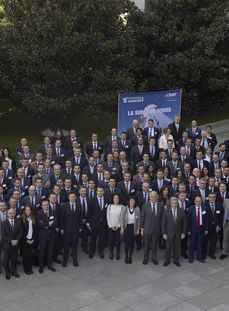 Caser celebra la XV convención del equipo comercial de agentes y corredores.