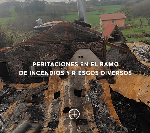 Peritaciones en el ramo de Incendios y Riesgos Diversos