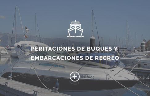 Peritaciones de buques y embarcaciones de recreo