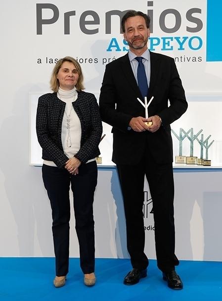 Asepeyo reconoce la gestión de la prevención de Allianz.